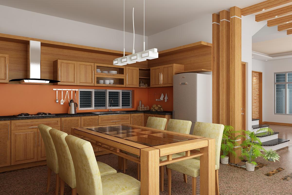 mẫu nội thất nhà bếp tối giản tại quảng ngãi